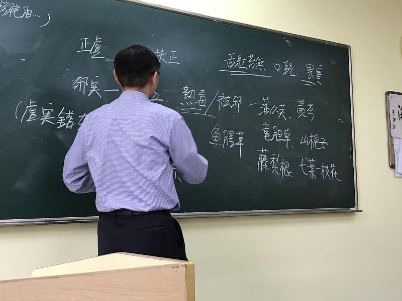鉏桂祥先生による授業